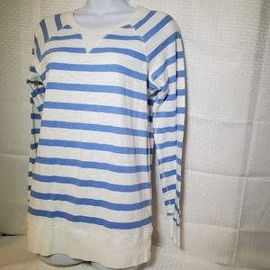 J. Crew Shirt Top LS Sz M